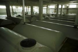 Los lodos de la depuradora de Vila se están tratando en la planta de Sant Antoni