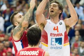 España debuta con derrota ante Serbia en el Eurobasket