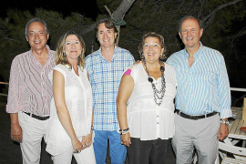 cena del Rotary Club Mallorca en la Calita