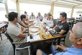Los vecinos de Talamanca deciden no denunciar por el momento  al Govern por el emisario