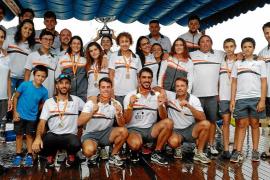 El CN Sant Antoni logra el título nacional infantil