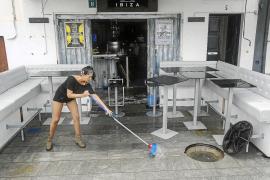 Las lluvias inundan por cuarta vez el puerto y los vecinos advierten de que están «al límite»