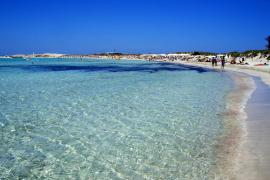 La playa de Ses Illetes, de Formentera, la mejor del país
