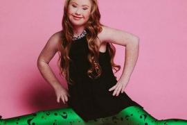 Una modelo con Síndrome de Down busca conquistar la pasarela de Nueva York