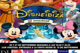 A la venta las entradas para el espectáculo infantil 'Disney Ibiza III' el 26 y 27 de septiembre