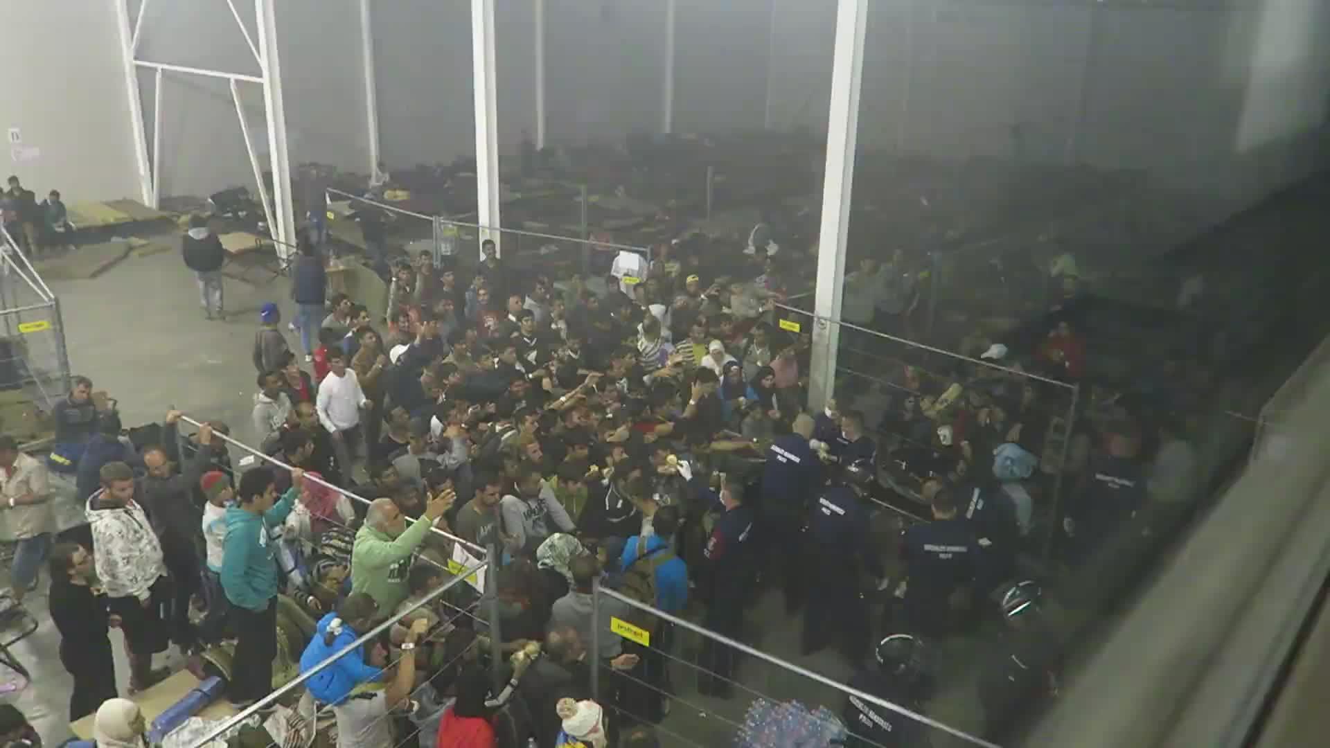 Una activista denuncia que los refugiados son tratados en Hungría como «animales»