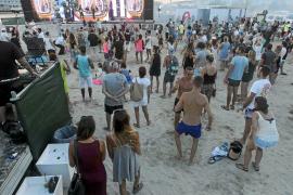 Talamanca, una discoteca al aire libre
