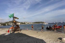 Izan ya la bandera verde en Talamanca, aunque se mantiene la amarilla en Ses Figueres