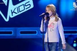Índigo, la niña menorquina que participa en La Voz Kids