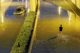 El Govern aún no sabe cómo evitar que la carretera del aeropuerto se inunde