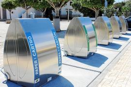 Sant Josep duplica su capacidad en la recogida selectiva de residuos