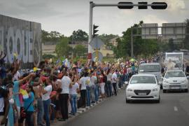 Cuba da una calurosa bienvenida al Papa y agradece su apoyo en el diálogo con EEUU