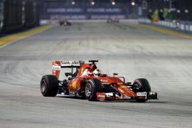 Vettel gana el Gran Premio de Singapur
