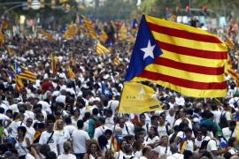 Mehr als eine halbe Million Katalanen demonstrieren für Unabhängigkeit