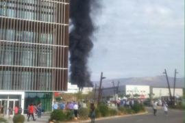 Fallece un trabajador en la explosión en una  empresa del Parque Tecnológico de Almería