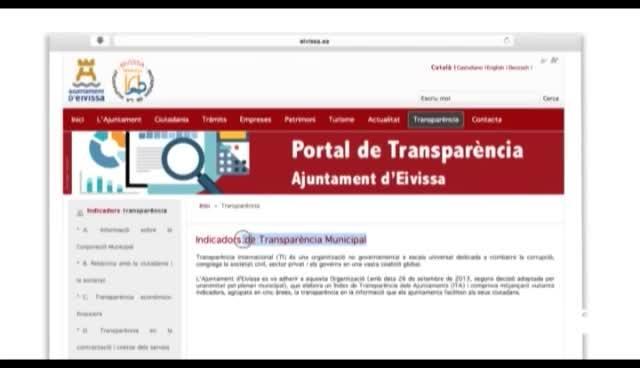 VÍDEO: El Ayuntamiento de Vila abre su portal de transparencia