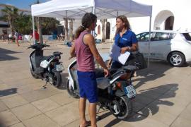 Formentera apuesta por los vehículos eléctricos en el 'Día Europeo sin coches'
