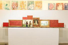 El abstracto de Rom Ero llega a la sala Sa Nostra
