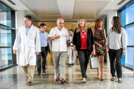 La consellera de Salut anuncia que la semana que viene comienzan las obras de radioterapia