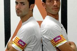 La Peña elige a Gabaldón y Rosselló como capitanes