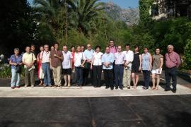Directivos de Centres Educatius Joaquim Rosselló visitan Can Prunera