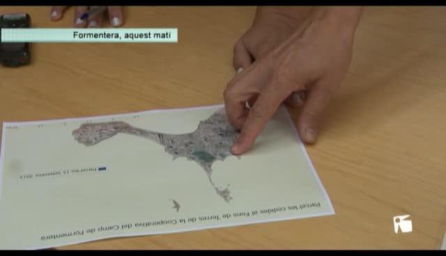 VÍDEO: Vecinos de Formentera ceden 105 hectáreas a la Cooperativa del Campo
