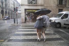 El temporal deja 64 litros en Porreres y bajada de las temperaturas