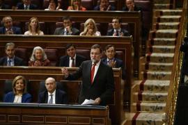 Rajoy considera «falso e injusto» atribuir al Gobierno la imputación de Mas