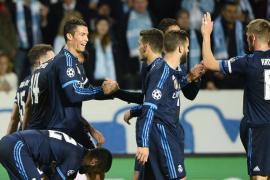 Un Ronaldo histórico rompe su sequía y firma un triunfo de trámite