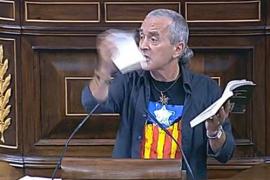 Posada expulsa de la tribuna del Congreso al diputado Sabino Cuadra (Amaiur)