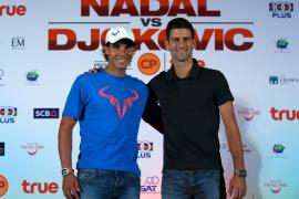 Nadal y Djokovic, frente a frente en Bangkok