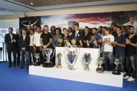 Florentino: «Cristiano es el máximo goleador de la grandiosa historia del Madrid»