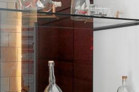 Toda una flota dentro de una botella