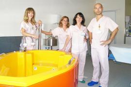 Can Misses estrena la bañera de partos para aliviar el dolor sin recurrir a la epidural