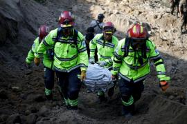 Elevan a 85 los muertos en Guatemala por el deslizamiento de tierra