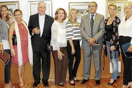 Aurelio Salas expone su obra en el Consulado de Argentina