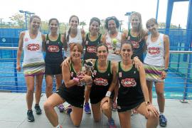 El Ibiza Club de Campo, subcampeón balear