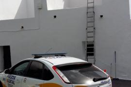 Un trabajador se encuentra en la UCI tras sufrir una caída en la iglesia de Sant Rafel