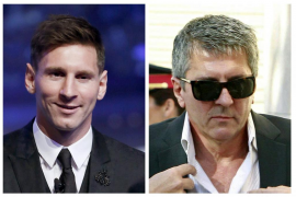 Messi y su padre irán a juicio acusados de tres delitos fiscales