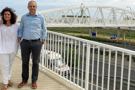 La pasarela para peatones de sa Blanca Dona ya está abierta al público