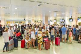 La ocupación hotelera en las Pitiüses se estanca en un 84% hasta septiembre