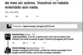 Torres no reprobará a Santiago y pide explicaciones al PP