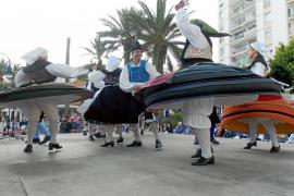 El folclore invade ses Figueretes