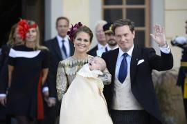 La familia real sueca bautiza al príncipe Nicolás, hijo de la princesa Magdalena