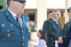 Celebración oficial del Día del Pilar en el cuartel de Can Sifre