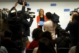 Arantza Quiroga dimite como presidenta del PP vasco