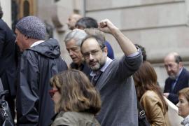 Baños aboga por la desobediencia si el TSJC inhabilita al president de la Generalitat