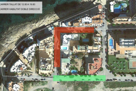 Un rodaje provocará que mañana se cierre al tráfico la calle Soledat de Sant Antoni