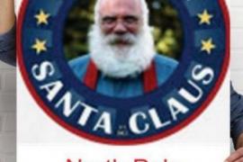 Un hombre llamado Santa Claus gana las elecciones en el Polo Norte