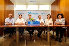 """El PP dice que el equipo de Gobierno del Consell de Eivissa ha provocado un """"cambio a peor"""" en la institución insular"""